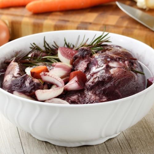marinated roast red wine